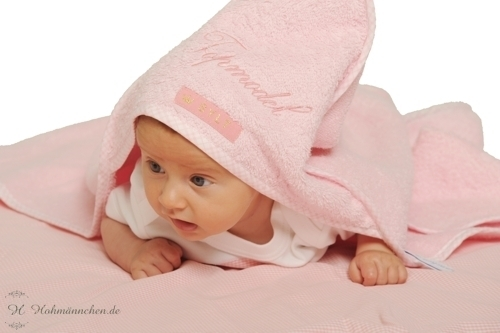 Badetuch Topmodel aus Frottee © Sylt Baby